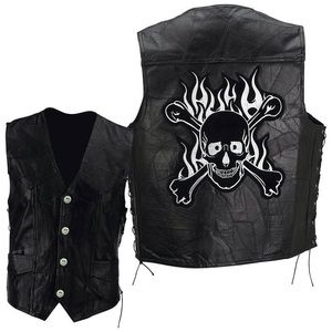 Other - Rock Genuine Buffalo Leather Motorcycle Vest